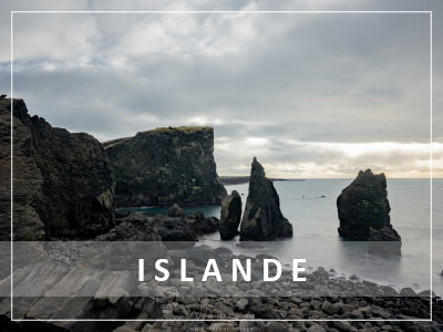 Péninsule de Reykjanes en Islande